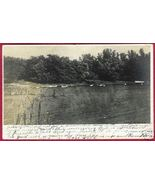 LAKE EMILY St Peters Minnesota MN RPPC UDB 1906 - $12.50