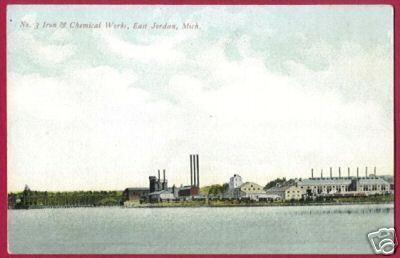 EAST JORDAN MICHIGAN Iron Chemical Works MI