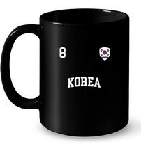Korea Football 8 BACK Korean Flag Soccer Gift Coffee Mug - $13.99+