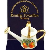 Dollhouse Flower Watering Can19490 Reutter Porcelain 1-12 Miniature 2015... - $8.00