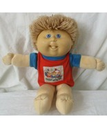 Cabbage Patch Kids Preschool Toddler '91 Hasbro Count with me Red & Blue... - $14.84
