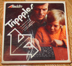 "Trippples ""Triples"" Game Of Strategy #880 1974 Aladdin Complete Excellent - $20.00"