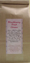 Blackberry Fruit Green ~Organic Herbal Tea Bags~ - $5.00