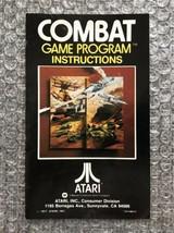 Combat - **ORIGINAL MANUAL ONLY** - Atari 2600 - MODERATE WEAR - $4.27