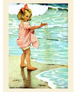 "11x14"" Cotton Canvas Print, Jessie Willcox Smith, Little Drops of Water,... - $23.99"