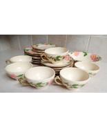 Set ,  22  pc.Gladdins/ Fransiscan  Desert Rose vintage china dishes. - $49.99