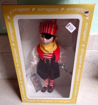 "Effanbee, Captain Kidd, Pirate doll.  11"" tall ... - $39.99"