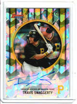 2019 Bowman's Best Travis Swaggerty Franchise Favorite Atomic Refractor ... - $39.60