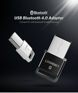 UGREEN USB Bluetooth 4.0 Adapter Wireless Dongle Transmitter and Receive... - $14.65