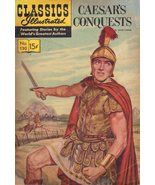 Classics Illustrated Comic Book-  Caesar's Conquests # 130  - $6.90