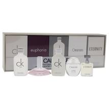 Calvin Klein Calvin Klein Deluxe Fragrance Travel Collection 5  Pc Mini ... - $108.48