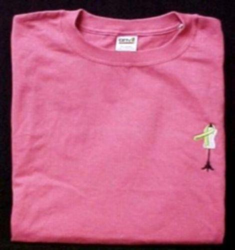 Hot Pink S/S T-Shirt Lymphoma Awareness Lime Ribbon Dress Form Dressmaker 2X image 2