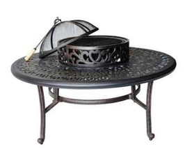 Outdoor Conversation Patio 5pc Deep Seating Set Elisabeth Furniture image 3