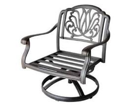 Outdoor Conversation Patio 5pc Deep Seating Set Elisabeth Furniture image 2