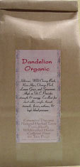 Dandelion ~Organic Herbal Tea Bags~