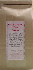 Wild Cherry Fruit Green ~Organic Herbal Tea Bags~
