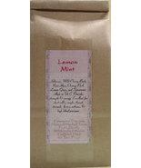 Lemon Mint Tea Bags - $5.00