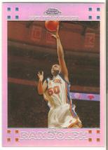 Zach Randolph Topps Chome 07-08 #51 Refractor #'d NY Knicks Memphis Griz... - $2.75