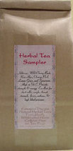 Herbal Tea Sampler Tea Bags - $7.00