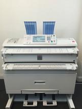 Lanier LW324 Wide Format Printer Copier Scanner LOW use 35k feet Ricoh 2... - $7,425.00