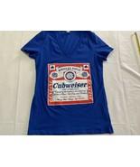 Chicago Cubs Wrigley Field Cubweiser Beer Shirt Women's XL - $23.75