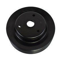 Crankshaft Pulley Triple-Groove LWP Long Water Pump For Chevy SBC 262 350 400