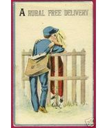 Rural Free Delivery Postman Lady US Mail RFD Cute - $7.50