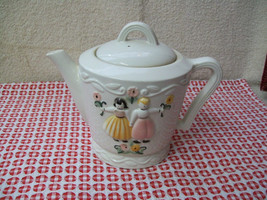 PORCELIER Tea Pot circa 1930-40 - $20.00