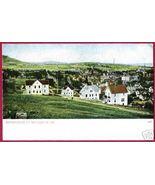 BENNINGTON VERMONT Homes Aerial Vintage VT UDB - $12.50