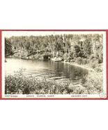 Kenora Ontario Hooks Muskie Camp RPPC Postcard BJs - $15.00