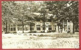 HARTLAND MI Waldenwoods Cromaine Hall RPPC - $15.00