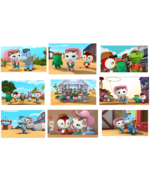 9 Sheriff Callie Stickers, party supplies, favors, gifts, decorations, b... - $8.99