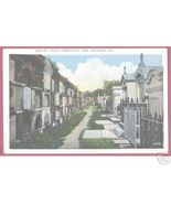 NEW ORLEANS LOUISIANA Old St Louis Cemetery Vintage - $5.00