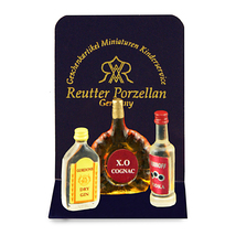 DOLLHOUSE  Liquor Bottle Set 19520 Reutter Spirits Miniature 2015 - $11.35