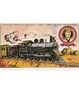 Collectible Postcard- Casey Jones - $4.00