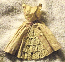 Vintage Barbie Garden Party Dress #931 - $14.95