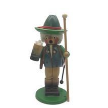 Steinbach Germany Musical Smoker Drum Stein Wooden Christmas Figurine 10... - $56.07