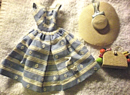 1960s Vintage Suburban Shopper Dress #969 Cute! - $36.95