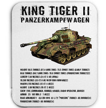 KING TIGER II GERMANY WWII - MOUSE MAT/PAD AMAZING DESIGN - $13.87