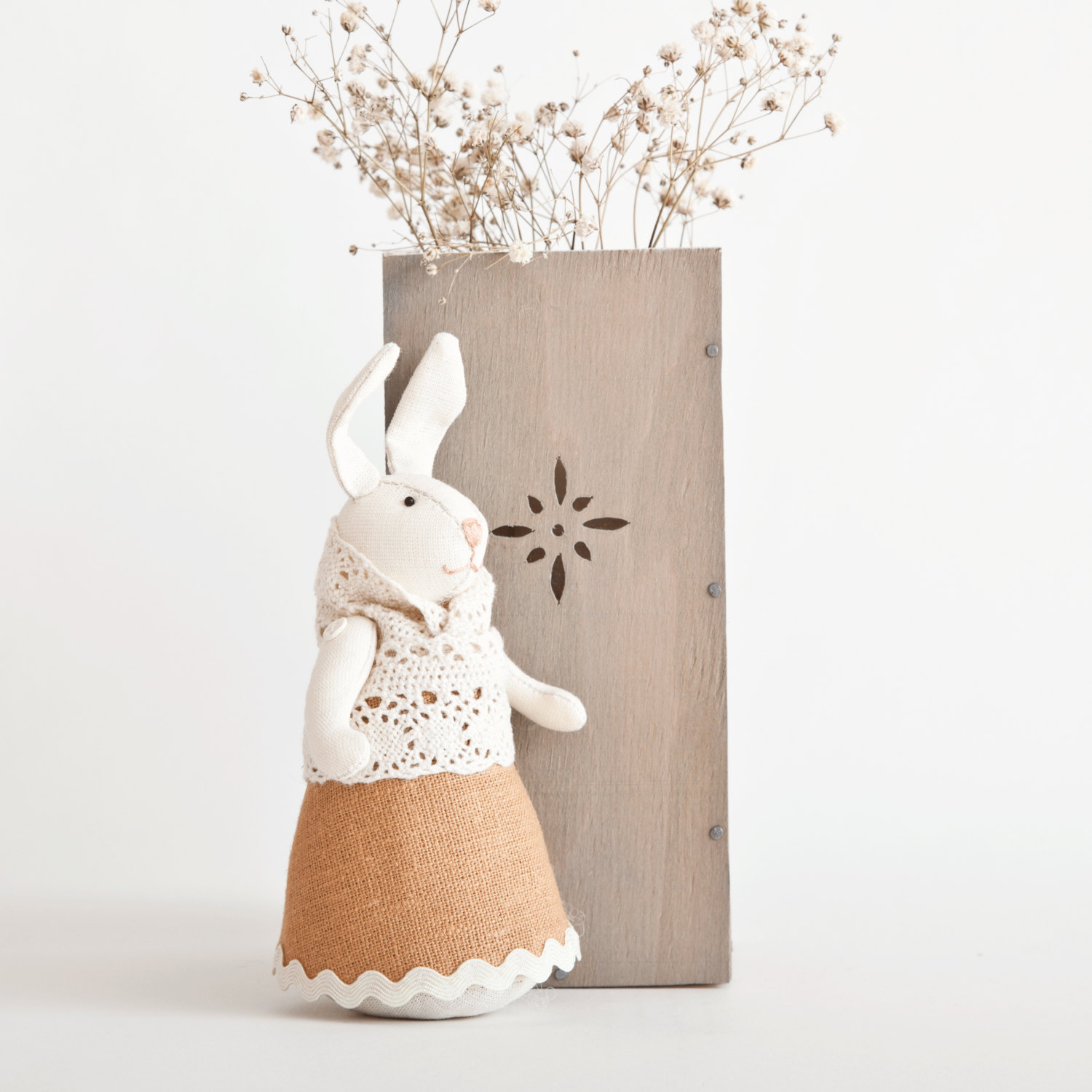 Orange easter bunny stuffed bunny rabbit and 50 similar for Rabbit decorations home