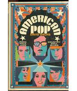 AMERICAN POP by David Dachs (1969) Scholastic SC 1st illust. Beatles Dyl... - $9.89