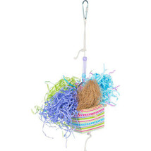 Prevue Pet  Assorted Prevue Basket Banquet Bird Toy 048081626733 - £11.34 GBP