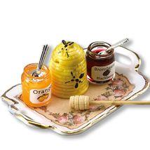 DOLLHOUSE Honey Jar Set 1.738/5 Reutter Classic Rose 1-12 Minature gemjane - $25.85