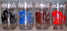 Swanky Swig Glasses Kiddie Cup 4 Different Colors - $15.00