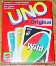 Uno Original Card Game 2001 Mattel Complete Excellent - $5.00