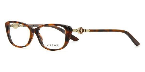 0b99f3a1c850 VERSACE VE3206 944 Havana Eyeglass Frame 52mm -  135.00