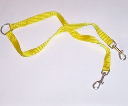 Two-Way Leash Coupler w/ 12-inch Nylon Leads Dog Walking Accessory Safet... - $7.42