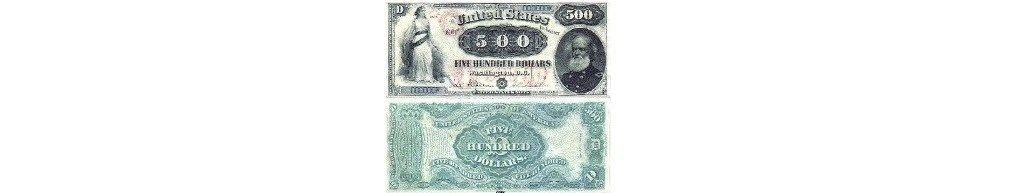 Primary image for 1878 $500 LEGAL TENDER NOTE Copy