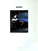 1993 Nissan NX sales brochure catalog US 93 1600 2000 Pulsar - $9.00