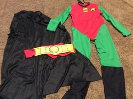Batman's Sidekick Friend Robin Rubies Costume Halloween Cosplay Size Small (4-6) - $16.82